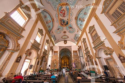 Interior da Catedral da Sé (Catedral de Nossa Senhora da Vitória) - 1690  - São Luís - Maranhão (MA) - Brasil