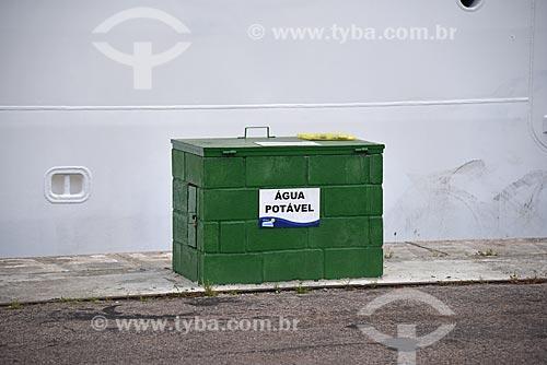 Ponto para abastecimento de agua potável de navio de cruzeiro no Píer Mauá  - Rio de Janeiro - Rio de Janeiro (RJ) - Brasil