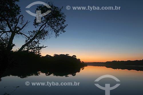 Amanhecer no Rio Negro - Parque Nacional de Anavilhanas  - Novo Airão - Amazonas (AM) - Brasil