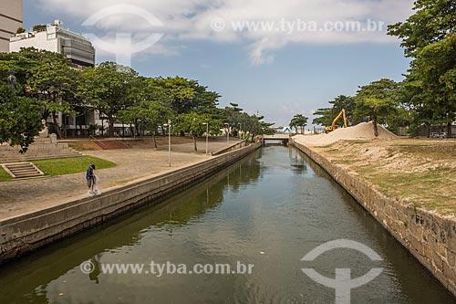 Vista do canal do Jardim de Alah  - Rio de Janeiro - Rio de Janeiro (RJ) - Brasil
