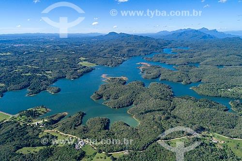Barragem Piraquara II - Abastece parte da região metropolitana de Curitiba  - Piraquara - Paraná (PR) - Brasil