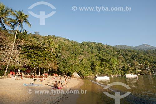 Banhistas na Praia da Crena  - Angra dos Reis - Rio de Janeiro (RJ) - Brasil