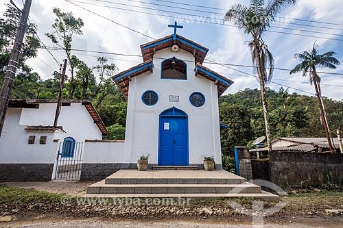 Fachada da Igreja de São Sebastião na Área de Proteção Ambiental da Serrinha do Alambari  - Resende - Rio de Janeiro (RJ) - Brasil