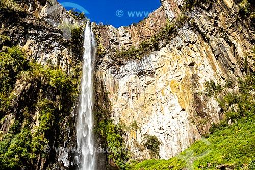 Vista da Cachoeira do Avencal  - Urubici - Santa Catarina (SC) - Brasil