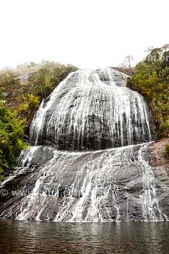 Vista da Cachoeira Véu da Noiva  - Urubici - Santa Catarina (SC) - Brasil