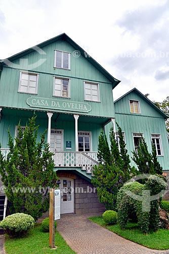 Fachada da Loja Casa da Ovelha (1917)  - Bento Gonçalves - Rio Grande do Sul (RS) - Brasil