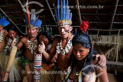 Indígenas da tribo Tatuyo  - Manaus - Amazonas (AM) - Brasil