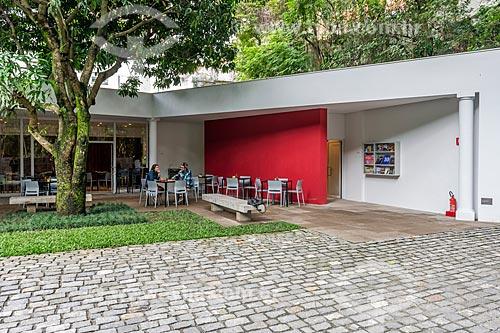 Cafeteria no Instituto Casa de Roberto Marinho (1939)  - Rio de Janeiro - Rio de Janeiro (RJ) - Brasil