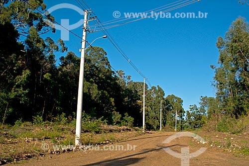 Infraestrutura para urbanização de terrenos na zona rural da cidade de Canela  - Canela - Rio Grande do Sul (RS) - Brasil