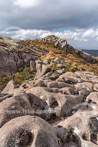 Vista da paisagem no Parque Nacional de Itatiaia  - Itatiaia - Rio de Janeiro (RJ) - Brasil