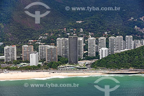 Foto aérea do Gran Meliá Nacional - antigo Hotel Nacional (1968)  - Rio de Janeiro - Rio de Janeiro (RJ) - Brasil