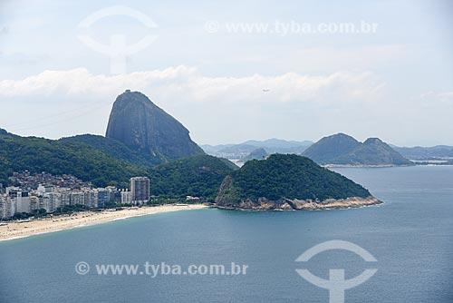 Foto aérea da Área de Proteção Ambiental do Morro do Leme  - Rio de Janeiro - Rio de Janeiro (RJ) - Brasil