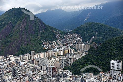 Foto aérea do Bairro Peixoto  - Rio de Janeiro - Rio de Janeiro (RJ) - Brasil