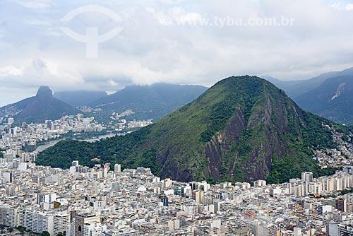 Foto aérea dos prédios de Copacabana  - Rio de Janeiro - Rio de Janeiro (RJ) - Brasil