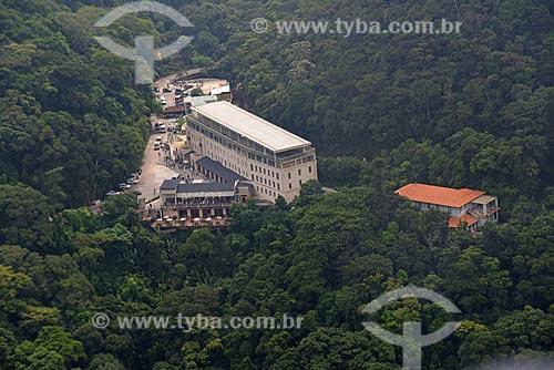 Foto aérea do Centro de Visitantes Paineiras - antigo Hotel Paineiras  - Rio de Janeiro - Rio de Janeiro (RJ) - Brasil