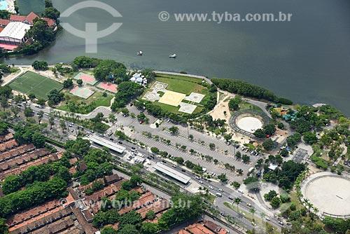Foto aérea do Parque dos Patins  - Rio de Janeiro - Rio de Janeiro (RJ) - Brasil