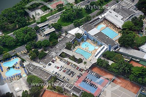 Foto aérea do Clube Monte Líbano  - Rio de Janeiro - Rio de Janeiro (RJ) - Brasil