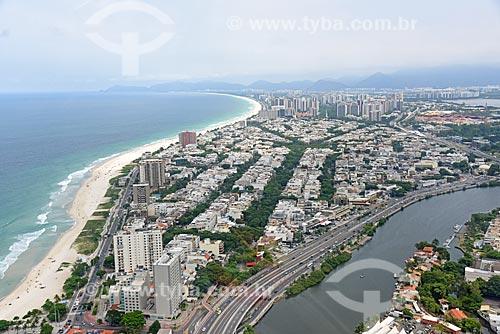 Foto aérea do Jardim Oceânico  - Rio de Janeiro - Rio de Janeiro (RJ) - Brasil