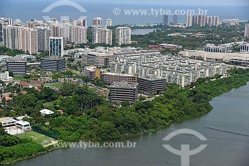 Foto aérea de prédios comerciais  - Rio de Janeiro - Rio de Janeiro (RJ) - Brasil