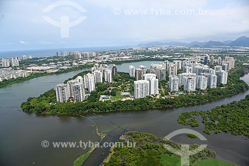 Foto aérea do Condomínio Residencial Península  - Rio de Janeiro - Rio de Janeiro (RJ) - Brasil