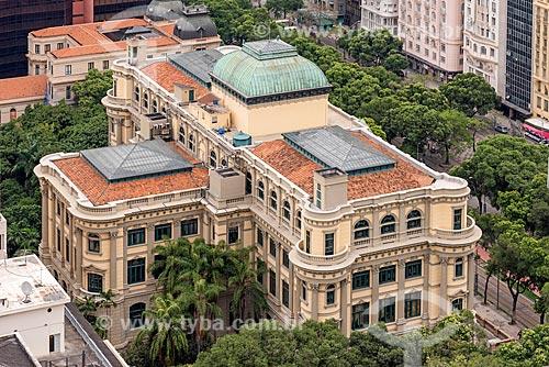 Vista de cima Biblioteca nacional  - Rio de Janeiro - Rio de Janeiro (RJ) - Brasil