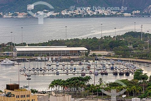 Vista de cima da Marina da Glória   - Rio de Janeiro - Rio de Janeiro (RJ) - Brasil
