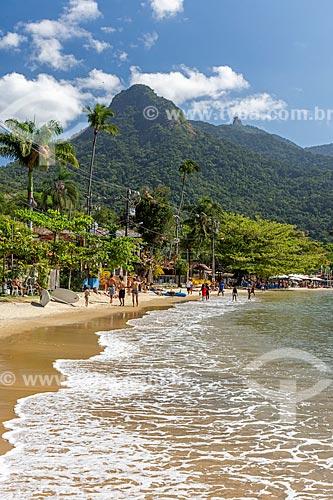 Vista da orla da Praia do Abraão  - Angra dos Reis - Rio de Janeiro (RJ) - Brasil