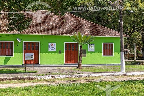 Prédio do conjunto do antigo Presídio de Ilha Grande - atualmente Ecomuseu Ilha Grande  - Angra dos Reis - Rio de Janeiro (RJ) - Brasil
