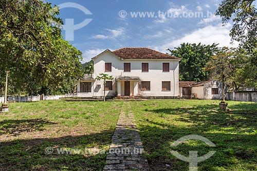 Fachada de casa de veraneio na Vila de Dois Rios  - Angra dos Reis - Rio de Janeiro (RJ) - Brasil