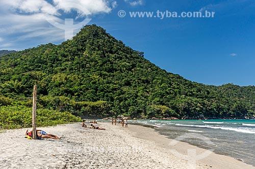 Banhistas na Praia de Dois Rios  - Angra dos Reis - Rio de Janeiro (RJ) - Brasil