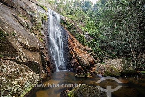 Cachoeira da Feiticeira no Parque Estadual da Ilha Grande  - Angra dos Reis - Rio de Janeiro (RJ) - Brasil