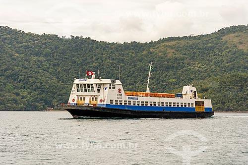 Barca que faz a travessia entre Angra dos Reis e a Ilha Grande  - Angra dos Reis - Rio de Janeiro (RJ) - Brasil