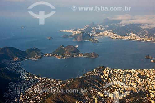 Foto aérea da Praia de São Francisco  - Niterói - Rio de Janeiro (RJ) - Brasil