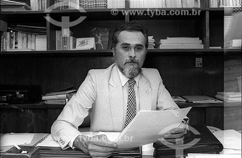 Detalhe do José Genoino - participante da guerrilha do Araguaia, preso em 1972 e anistiado em 1979, foi fundador e presidente do Partido dos Trabalhadores  - Rio de Janeiro - Rio de Janeiro (RJ) - Brasil