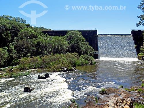 Vista da Barragem da Divisa - parte do Sistema Salto  - São Francisco de Paula - Rio Grande do Sul (RS) - Brasil