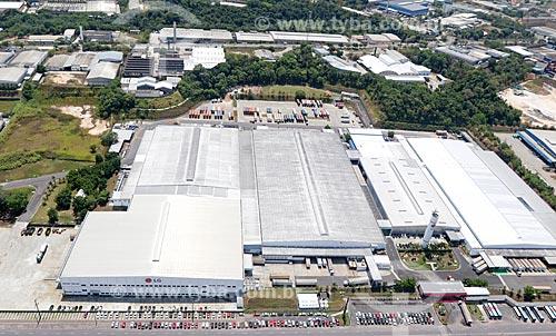 Foto aérea da fábrica da LG Corporation no Polo Industrial de Manaus  - Manaus - Amazonas (AM) - Brasil