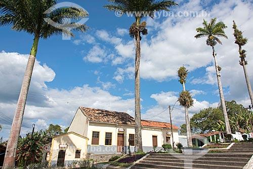 Fachada da casa paroquial da Igreja Matriz de Nossa Senhora da Conceição  - Guaramiranga - Ceará (CE) - Brasil