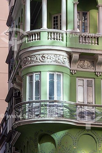 Casario na esquina da Rua do Ouvidor com Rua Miguel Couto  - Rio de Janeiro - Rio de Janeiro (RJ) - Brasil