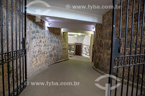 Interior da antiga Fortaleza de Nossa Senhora da Conceição de Villegagnon - hoje abriga a Escola Naval  - Rio de Janeiro - Rio de Janeiro (RJ) - Brasil