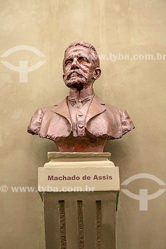 Busto de Machado de Assis na Academia Brasileira de Letras (ABL)  - Rio de Janeiro - Rio de Janeiro (RJ) - Brasil