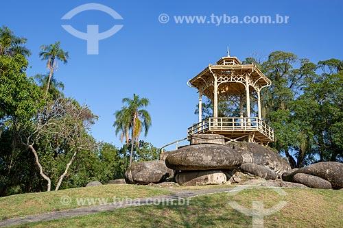 Coreto da Quinta da Boa Vista - também conhecido como Pagode Chinês  - Rio de Janeiro - Rio de Janeiro (RJ) - Brasil