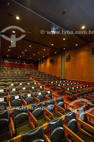 Interior da Cinemateca do Museu de Arte Moderna do Rio de Janeiro  - Rio de Janeiro - Rio de Janeiro (RJ) - Brasil