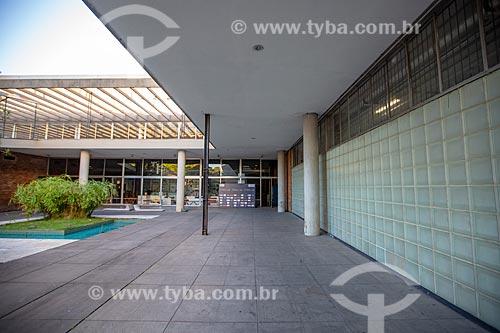 Pátio do Museu de Arte Moderna do Rio de Janeiro (1948)  - Rio de Janeiro - Rio de Janeiro (RJ) - Brasil