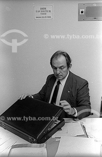 Bernardo Cabral - relator da Assembleia Constituinte de 1987  - Brasília - Distrito Federal (DF) - Brasil