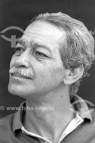 Detalhe do ator Gracindo Junior - década de 90