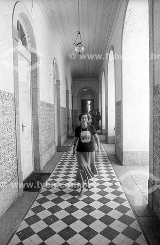 Economista Maria da Conceição Tavares - década de 80  - Rio de Janeiro - Rio de Janeiro (RJ) - Brasil