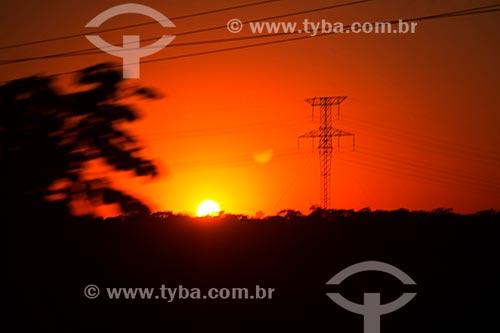 Amanhecer na cidade de Bonito  - Bonito - Mato Grosso do Sul (MS) - Brasil