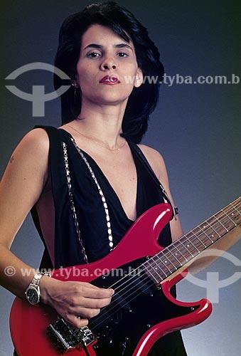 Cantora Marina Lima - década de 80