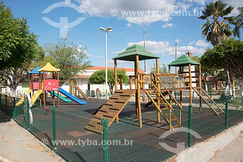 Parque na Praça da Estação  - Quixadá - Ceará (CE) - Brasil