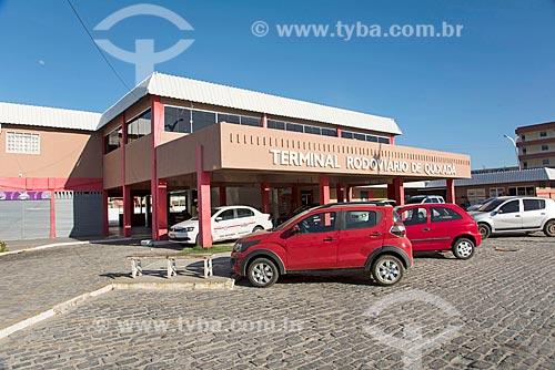 Fachada do Terminal Rodoviário de Quixadá  - Quixadá - Ceará (CE) - Brasil